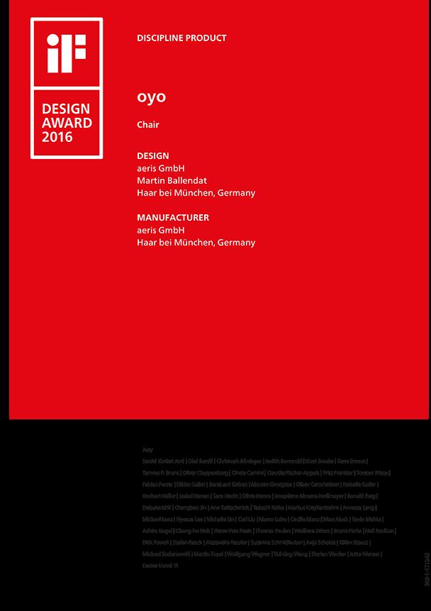 oyo iF Design Award